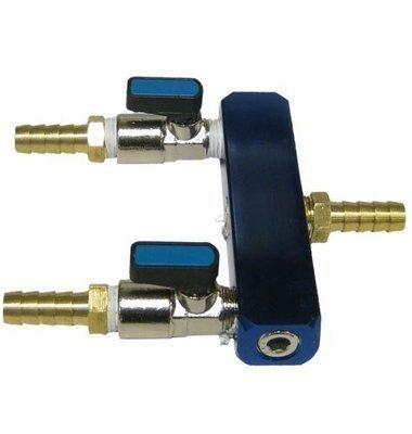 Two-Way Air Splitter 3/8