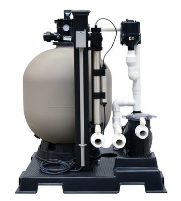 Complete Skid Mounted Filtration System - 10,000 Gallons