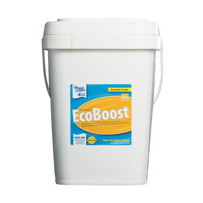 Pond Logic Ecoboost Water Clarifier - 48 Scoop (24 lb) Pail