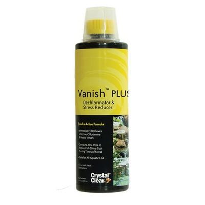 Vanish Plus - Dechlorinator Plus Stress Reducer - 16 oz