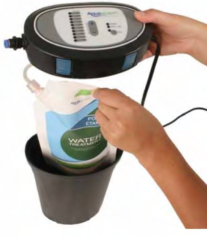 Aquascape Automatic Dosing System For Ponds Pond Products Canada Hydrosphere Water Gardens