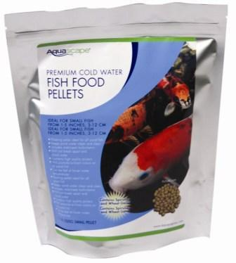 Aquascape Premium Cold Water Fish Food pellets 1 Kg
