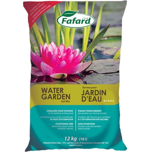 Water Garden Soil Mix - 12 Kg bag
