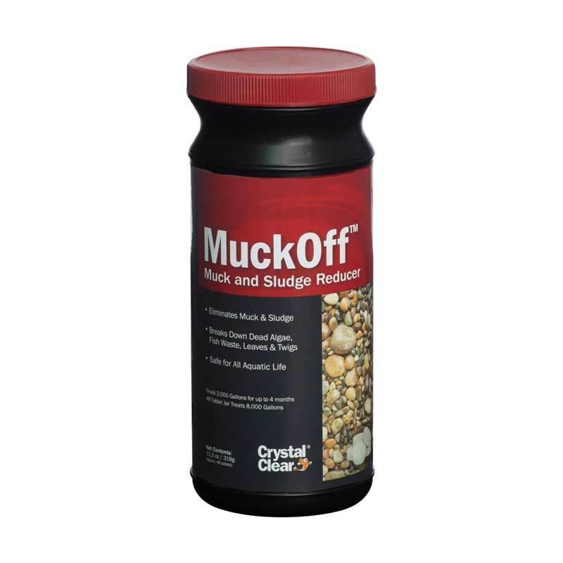 MuckOff - Muck & Sludge Reducer - 48 Tablets