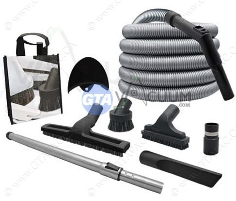 Deluxe Garage Hose Kit 30'-50' W/Air Flow Control