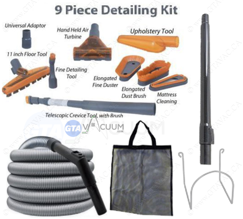 Premium Garage Hose Kit 50' W/Air Flow Control