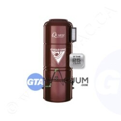 CycloVac Quartz Exclusive Plus 25 Yrs Warranty Central vacuum