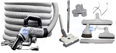 Premium Hose KIT With SEBO ET-1 Powerhead & Attachments