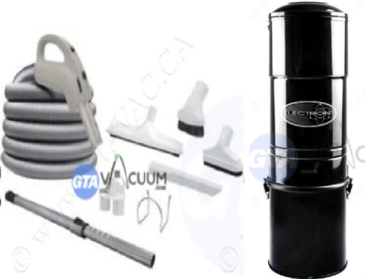 Electron Central Vacuum System Package