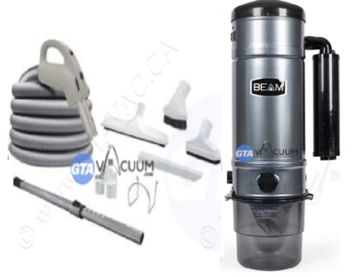 Beam Serenity SC398 Central Vacuum System Package