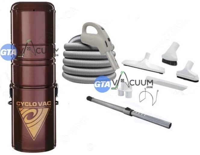 Cyclovac 215 Central Vacuum Package
