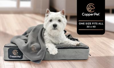 Copper Infused Fleece Blanket