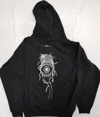 Black eyeball hoodie