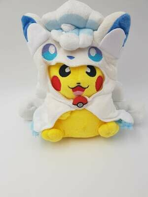 Alolan Vulpix Pikachu