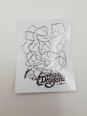 D&d sticker