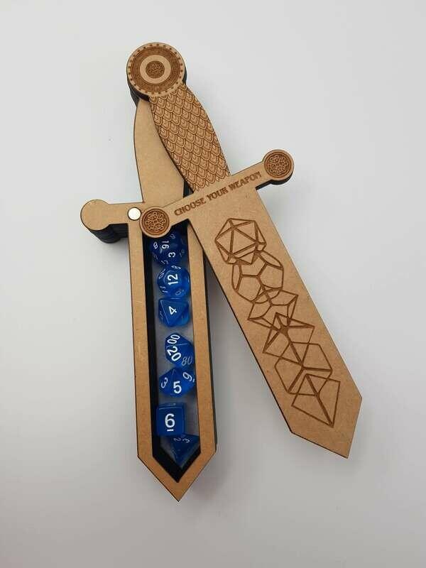 Dagger dice box