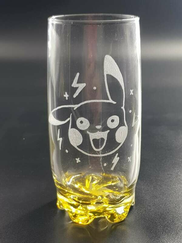 Pikachu glass
