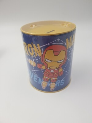 Iron man piggy bank