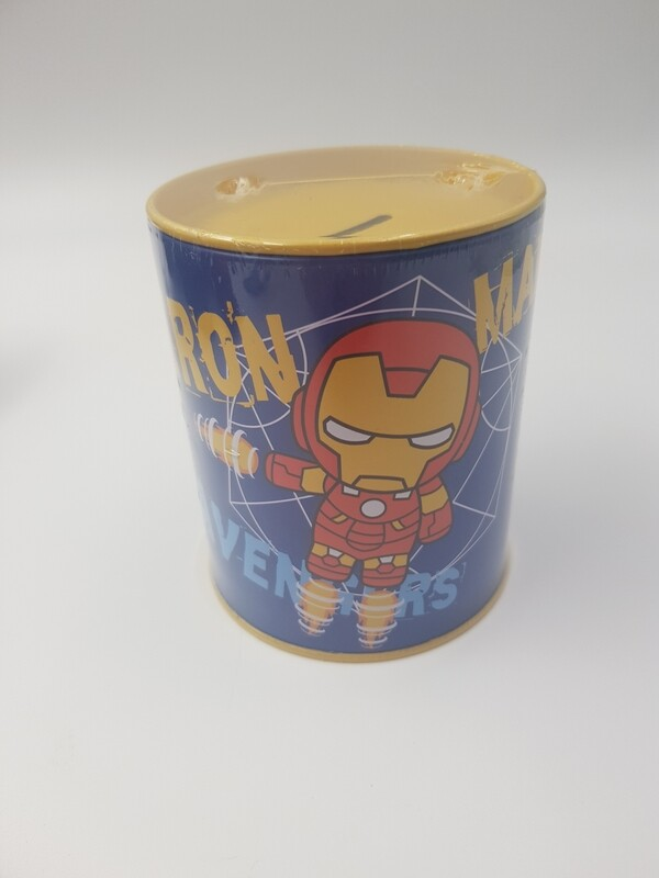 Iron man piggy bank