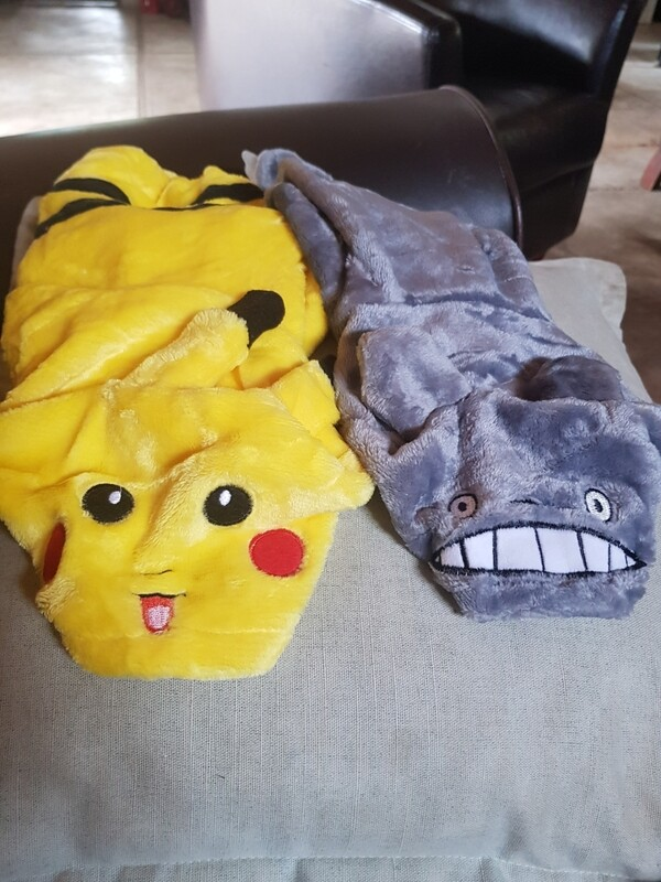 Pikachu dog clothes