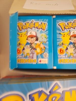 Vintage pokemon stickers