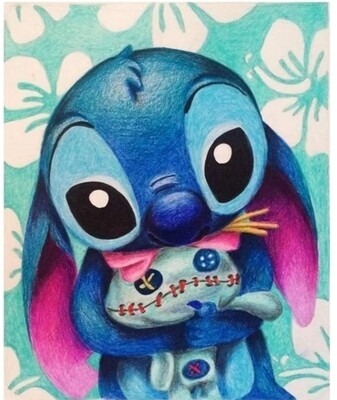 Stitch diamond painting