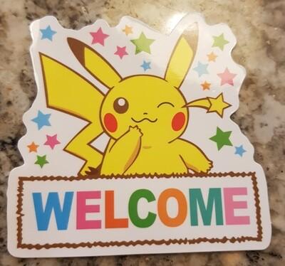 Pikachu sticker