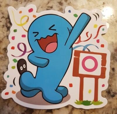 Wobbuffet sticker