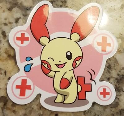 Plusle sticker