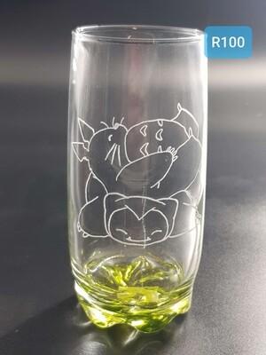 Snorlax totoro glass