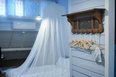 Baldachin für  Einzelbetten Breite 100 cm