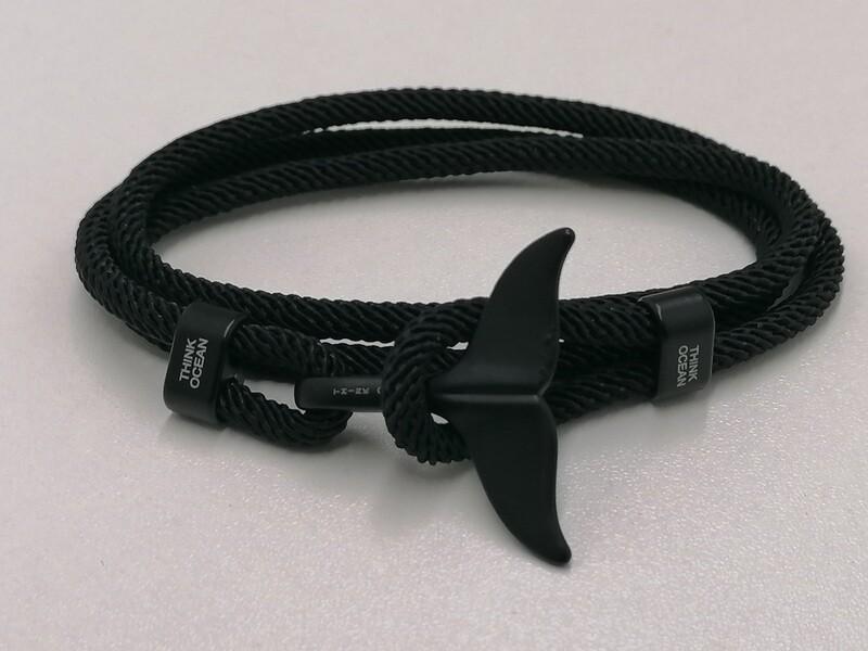 Think Ocean Original Black Bracelet