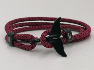 Think Ocean Original Burgundy Bracelet