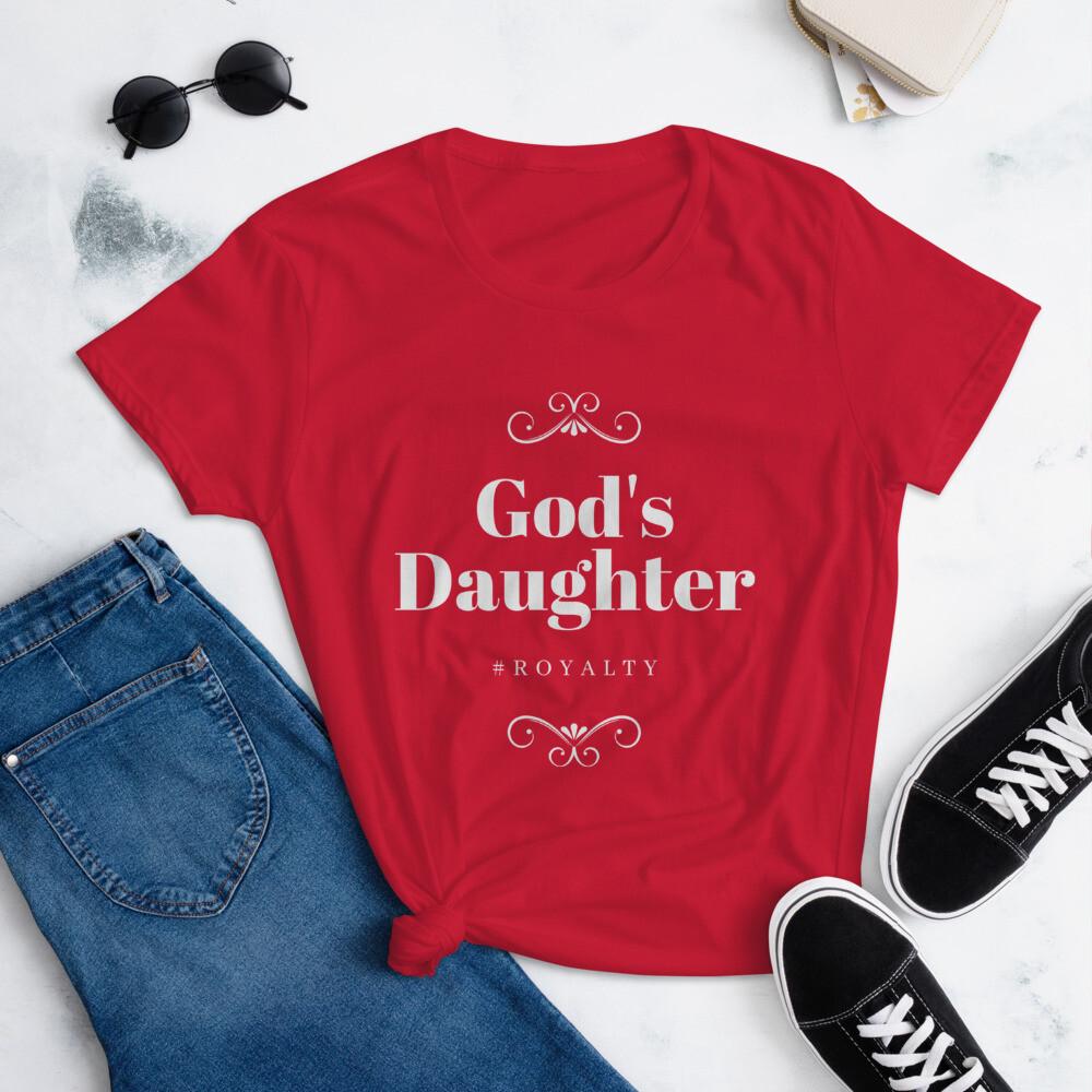 God's Daughter Women's short sleeve t-shirt