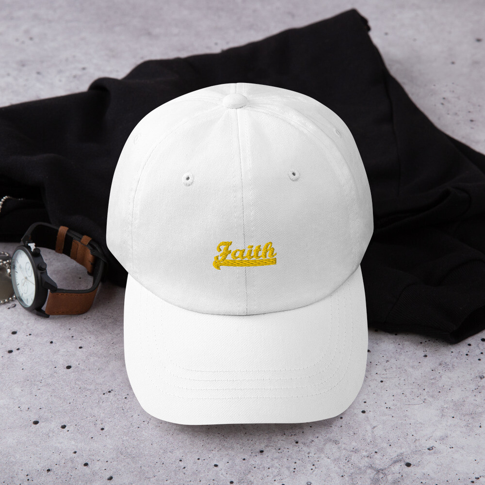 Bold Faith Dad hat - Unisex