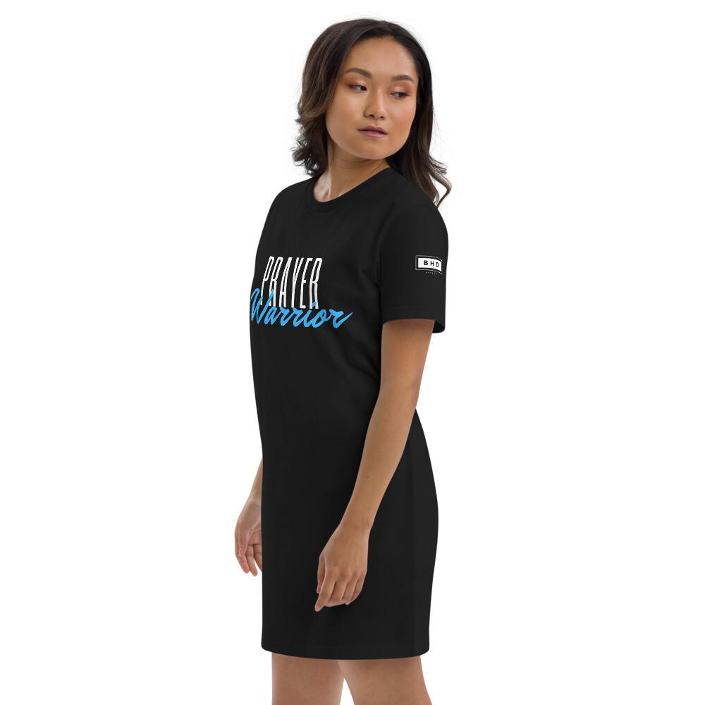 Prayer Warrior Organic cotton t-shirt dress - Ladies