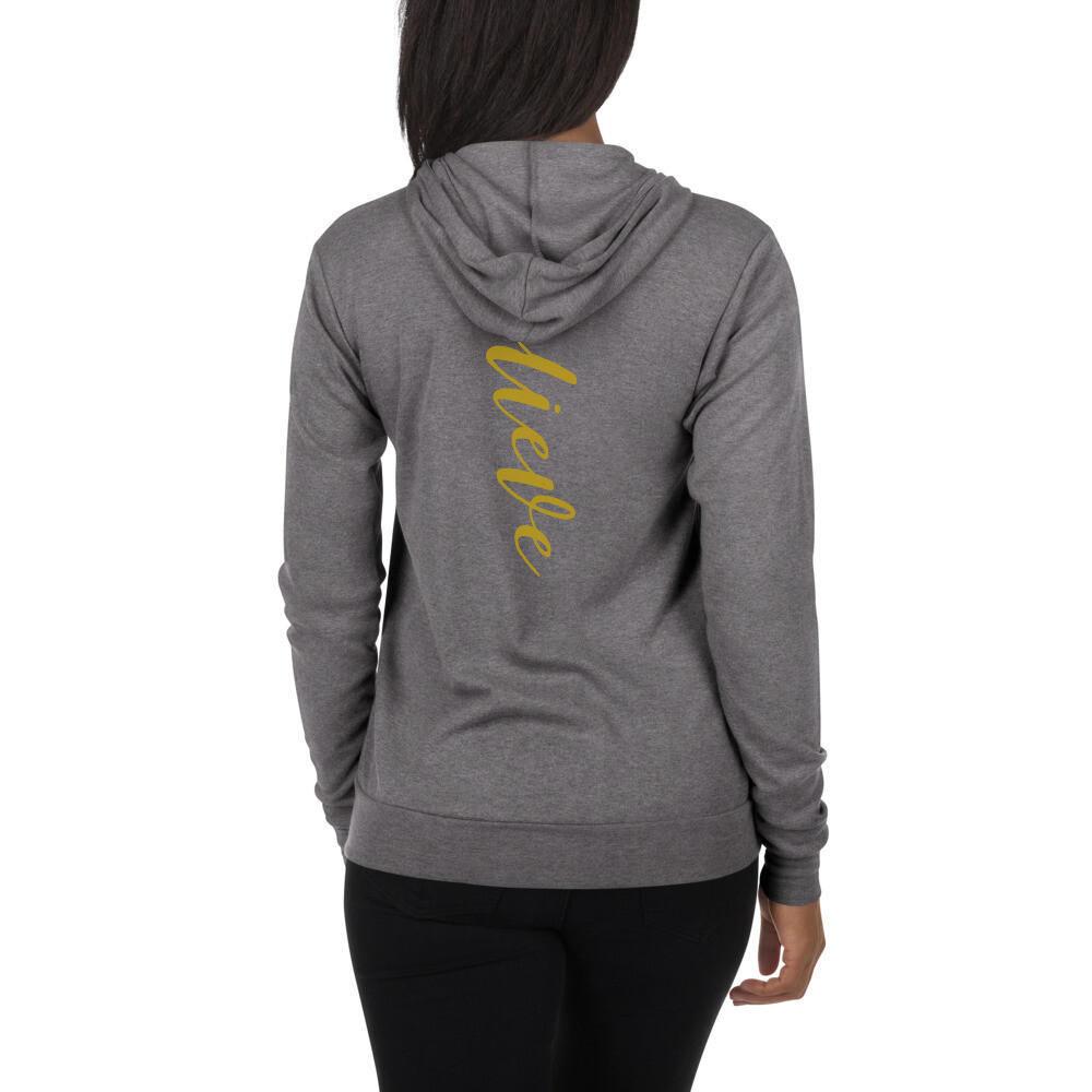 Believe - Unisex zip hoodie - byHISdirection Apparel - Ladies