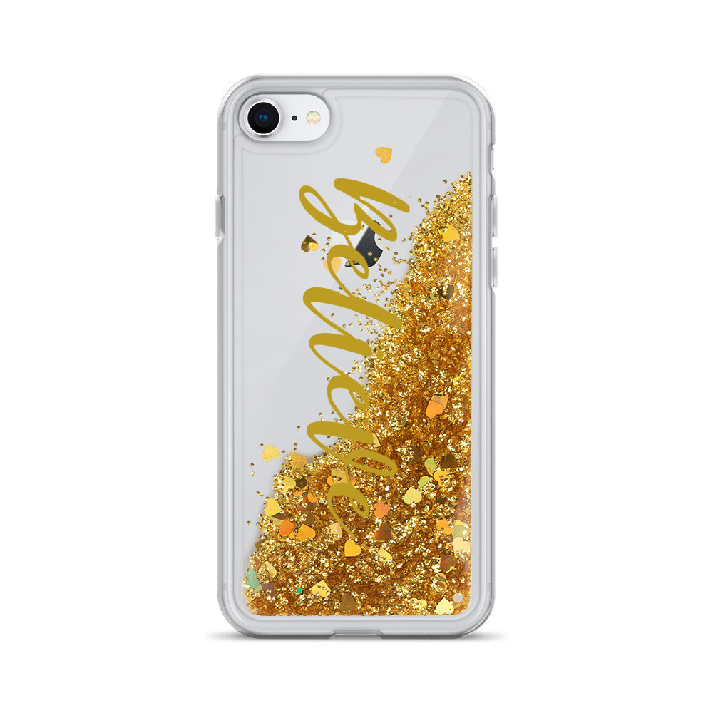 Believe -  Liquid Glitter Phone Case - byHISdirection Apparel - Unisex