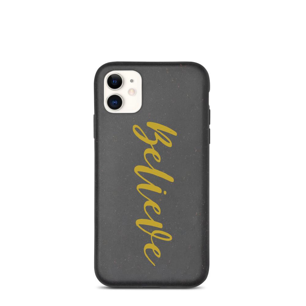 Believe - Biodegradable iPhone Case - byHISdirection Apparel - Unisex
