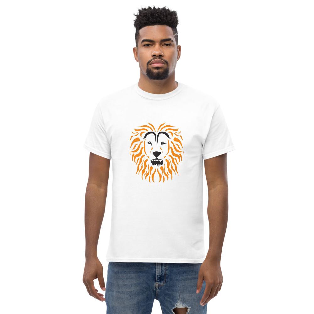 The Lion - Men's heavyweight tee - byHISdirection Apparel