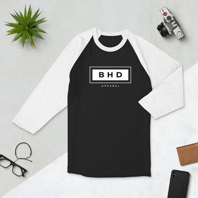 BHDA the Brand - 3/4 sleeve raglan shirt - byHISdirection Apparel - Unisex