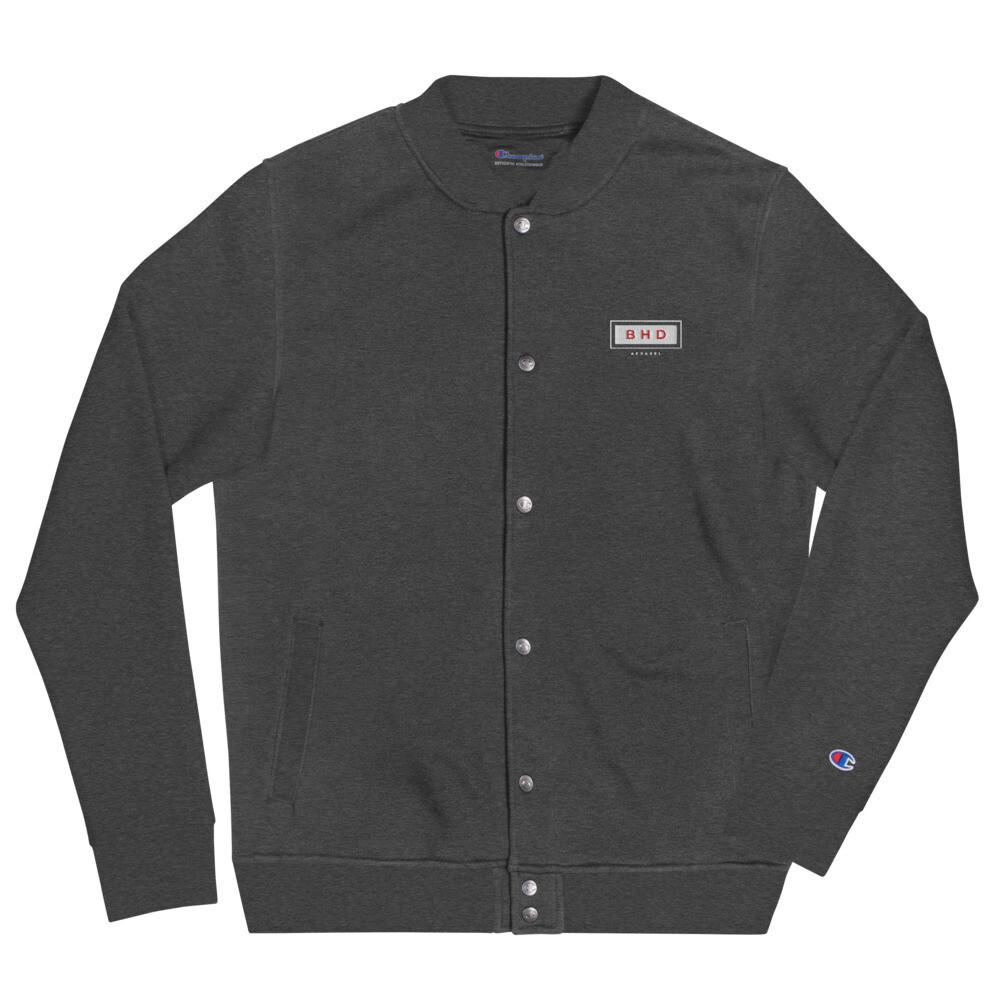 BHDA Embroidered Champion Bomber Jacket