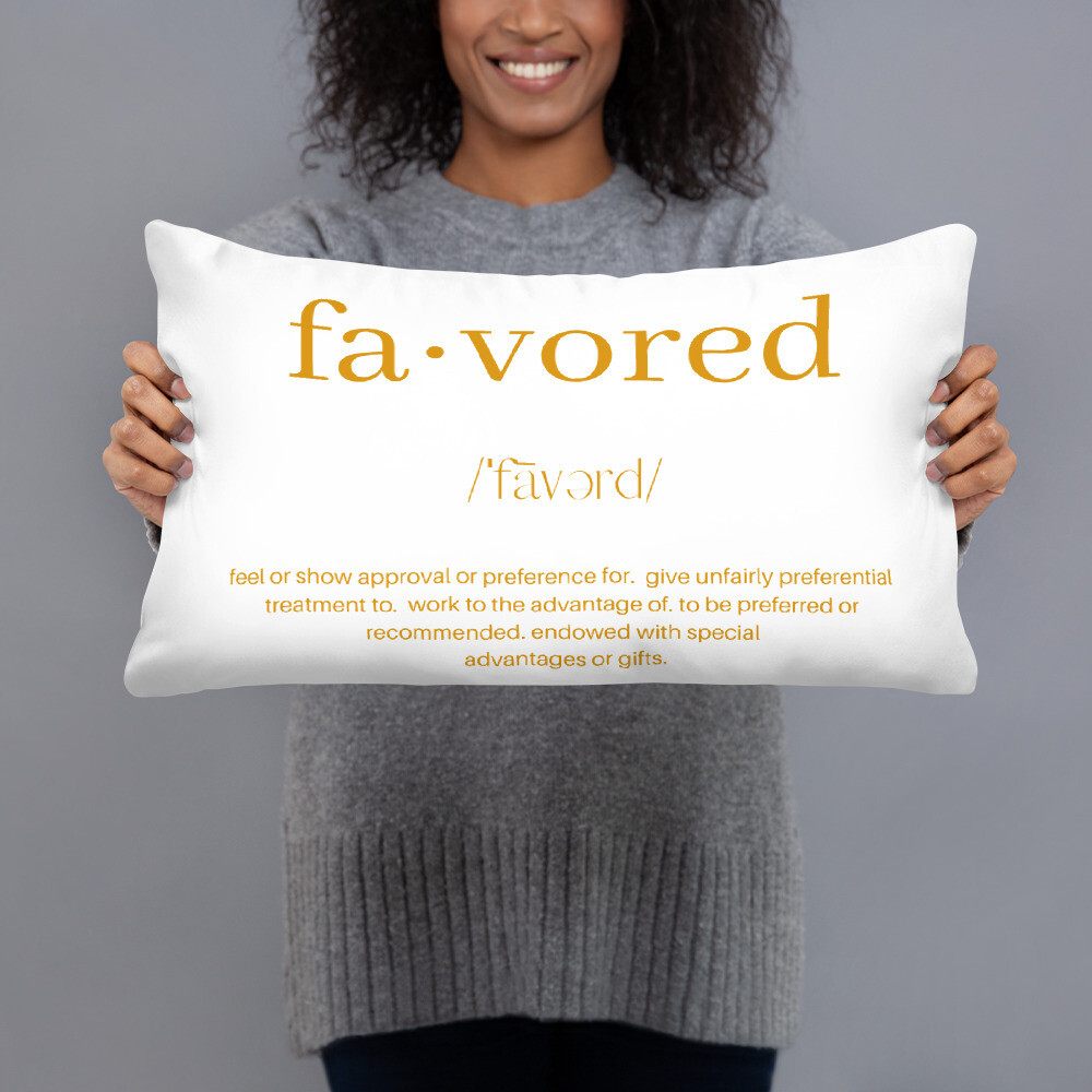 Favored - Pillow
