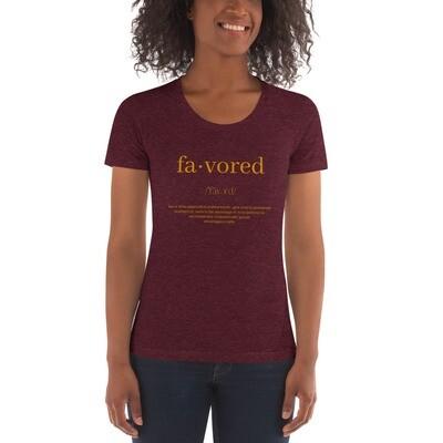 Favored - Women's Crew Neck T-shirt