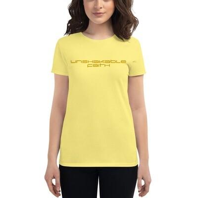 Unshakable Faith Women's short sleeve t-shirt