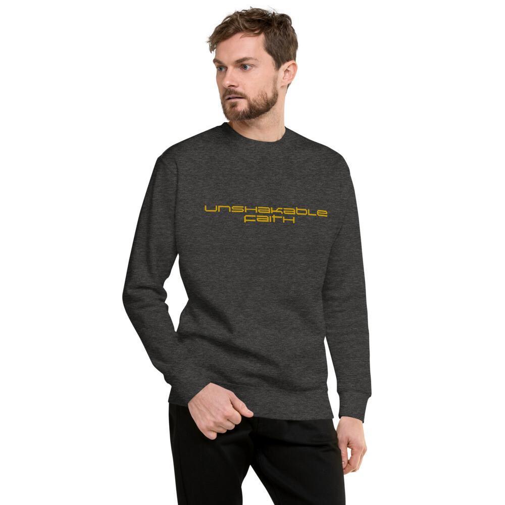 Unshakable Faith Unisex Fleece Pullover