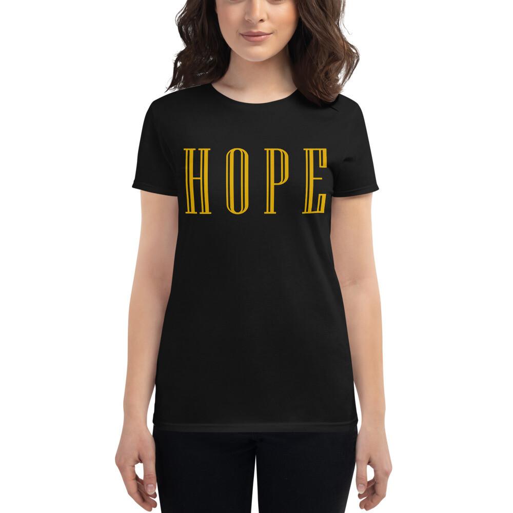 HOPE - Women's short sleeve t-shirt