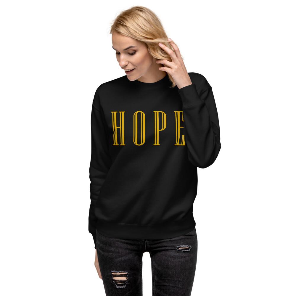 HOPE - Unisex Fleece Pullover