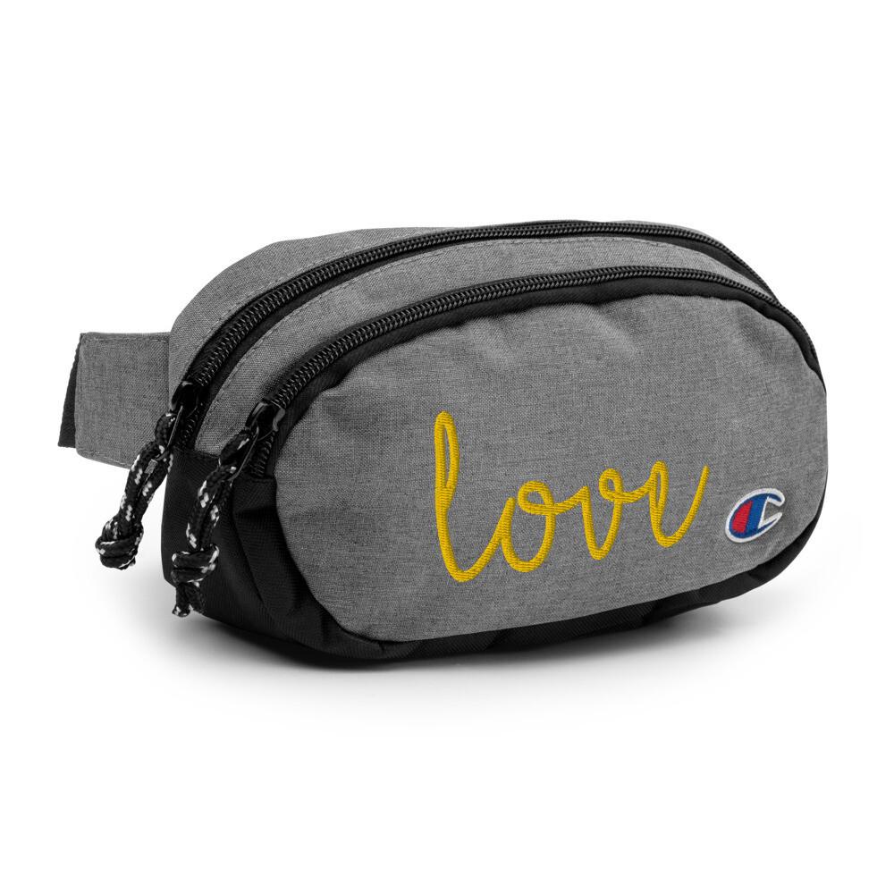 Love Champion fanny pack