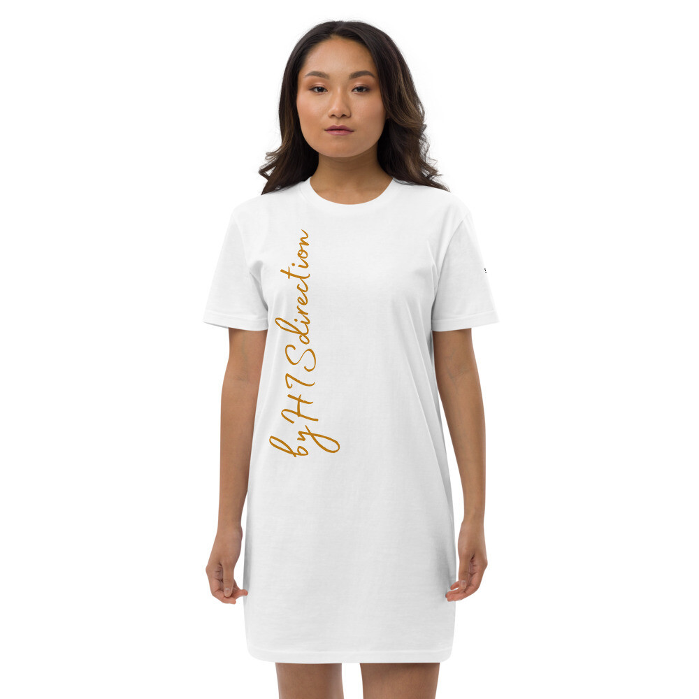 byHISdirection Organic cotton t-shirt dress